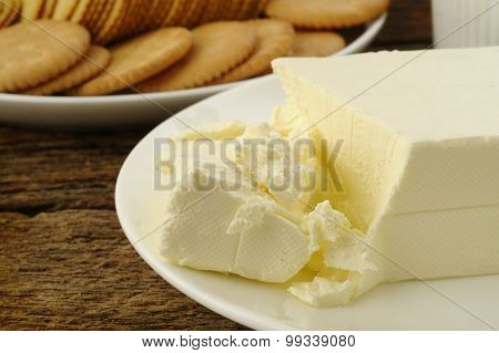 Cracker With Cream Cheese