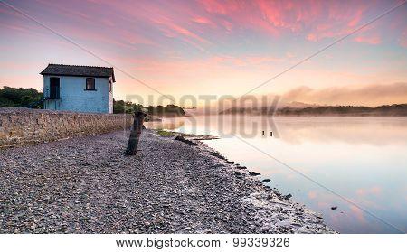 Sunrise At Halton Quay