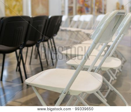 Black And White Conference Chairs
