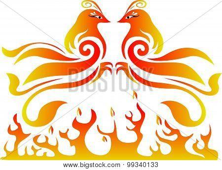 Double pheonix vector fire