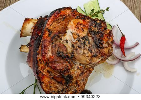 Roasted Pork Knee