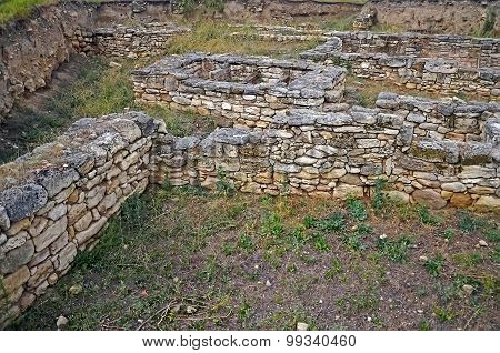 Excavations Of The Ancient City In Kerch