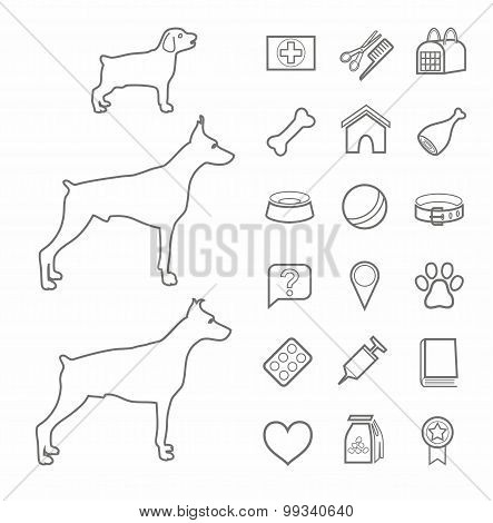 Icons, Pet Supplies