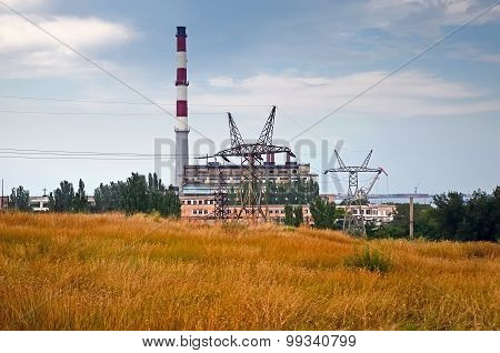 Views Thermal Power Plant Kerch