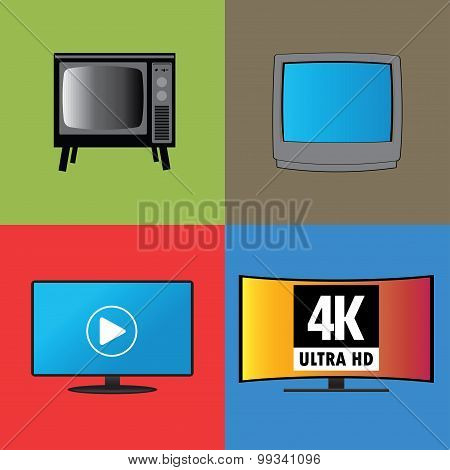 Banners Or Background, The Evolution Of Television