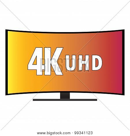 4K Ultra Hd Modern Curved Screen Smart Tv