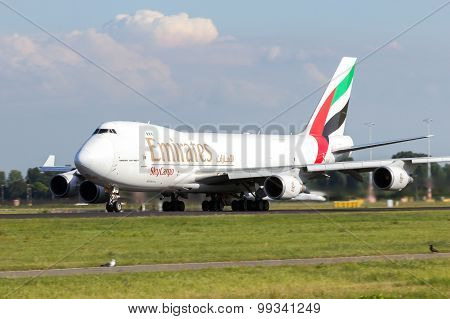Emirates Skycargo Boieing 747