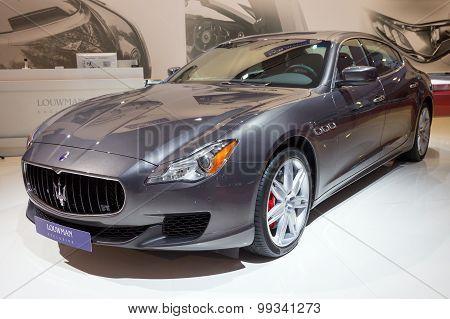 Louwman Exclusive Maserati Quattroporte