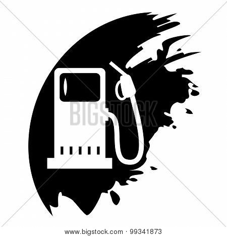 Fuel. Black Blob.