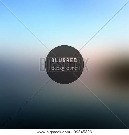 Vector Background. Blurred Defocused Lights