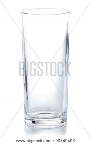 Crystal Clear Empty Glass