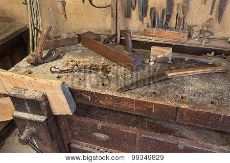 Old Carpenter's Bench