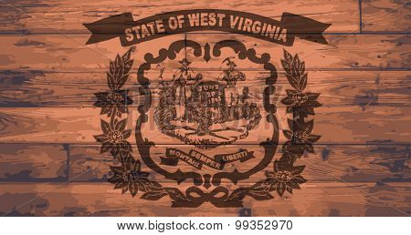 West Virginia Flag Brand