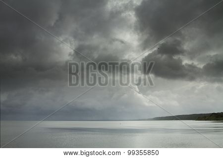 Storm With The Wind On The Sea