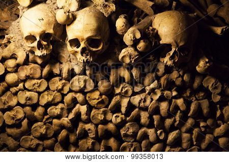 Catacombs Of Paris.