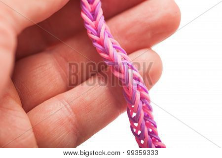 Purple Colored Loom Band