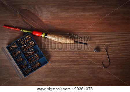 Fishing Tools Hook And Bobber