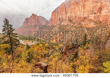 Zion National Park in Fall