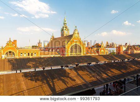 Gdansk. Train Station.