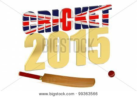 Great Britain 2015 Cricket Concept