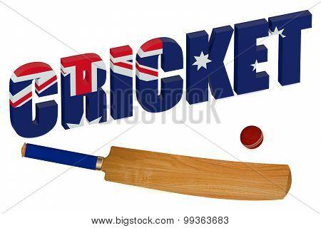 Australia Cricket Concept