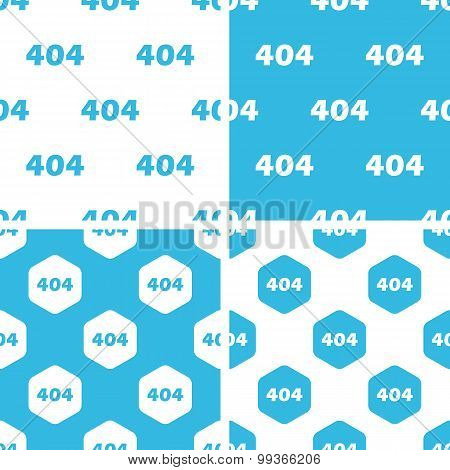404 patterns set