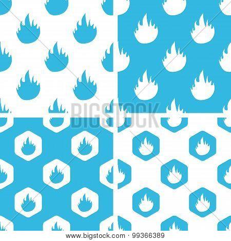 Flame patterns set