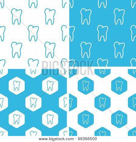 Tooth patterns set