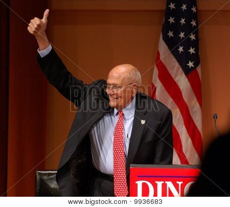 Congressman John Dingell Thumbs Up