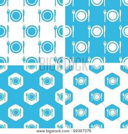 Dishware patterns set