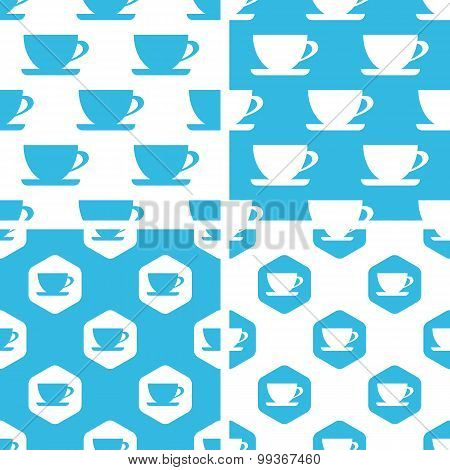 Cup patterns set