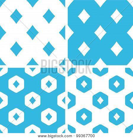 Diamonds patterns set