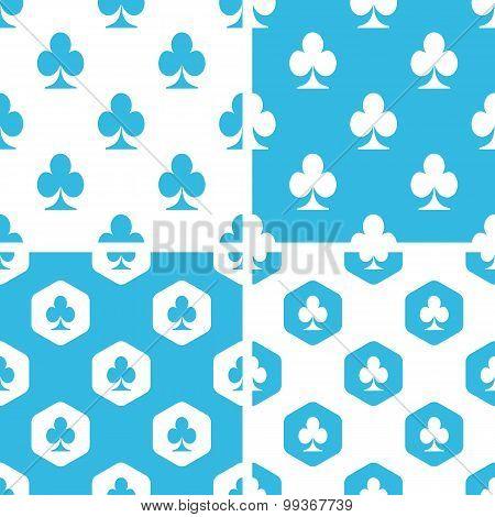 Clubs patterns set