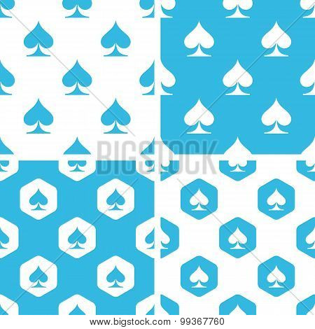 Spades patterns set