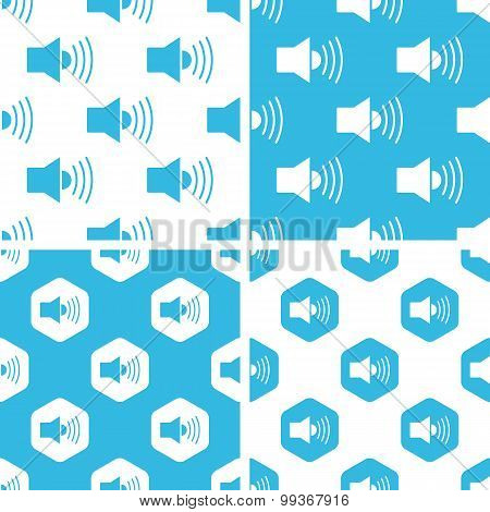 Loudspeaker patterns set