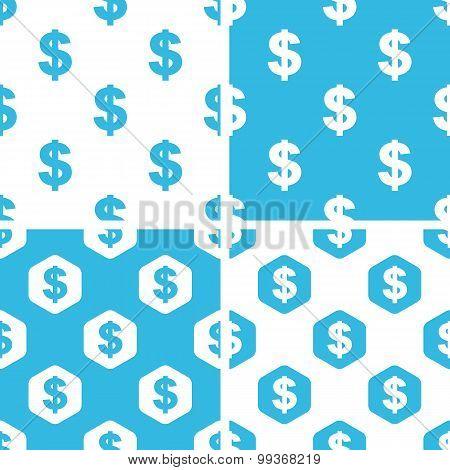 Dollar patterns set