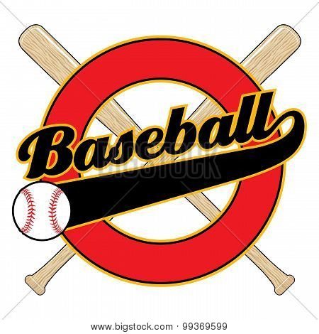 Baseball With Tail Banner