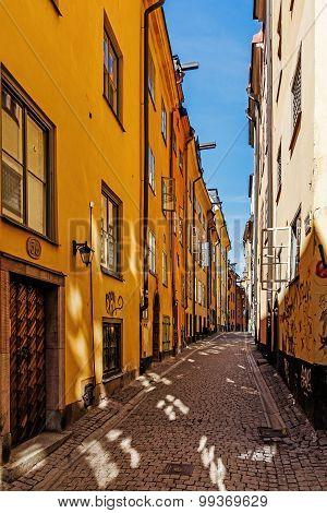 Small street on Gamla stan