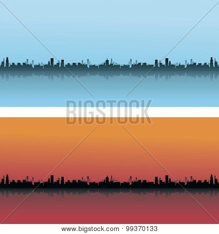 City Skylines In Different Colours