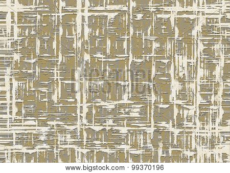 Grunge Background in Tan and White