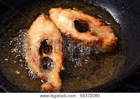 Fry Fish Thai Style Food