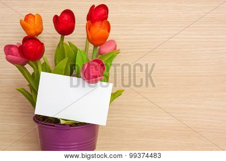 Business Cards With Flowers.
