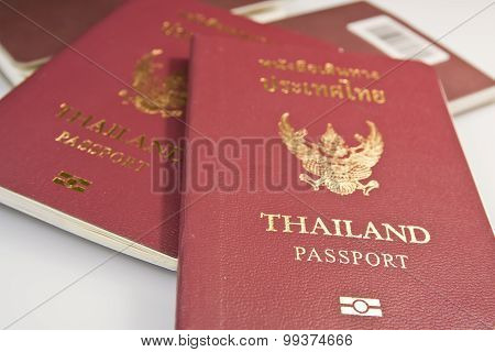 Thailand Passport.