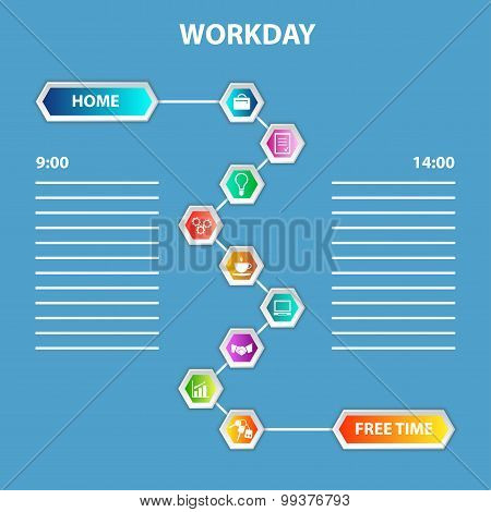 Order of Workday Template