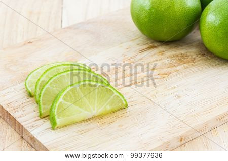 Limes Slices.