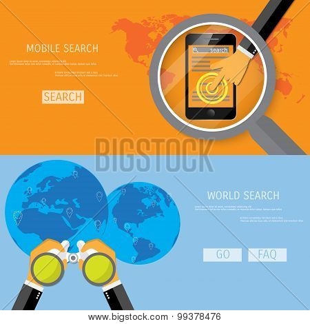World and mobile search