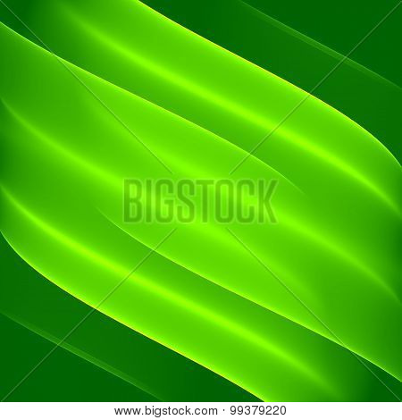 Abstract green background pattern. Green leaf abstract background. Digital art.