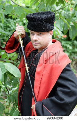 Kuban Cossack With A Saber