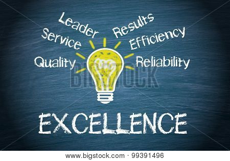 Excellence - Business Concept