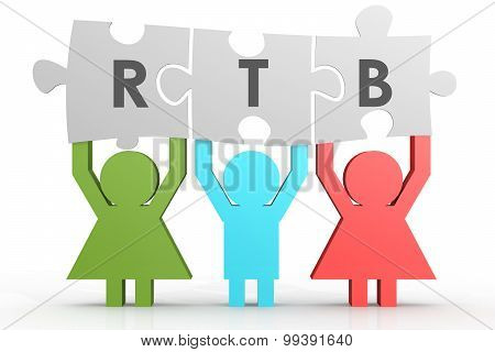 Rtb - Real Time Bidding Puzzle In A Line